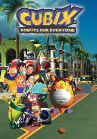 Cubix: Robots for Everyone - 11 x 17 Movie Poster - Style B