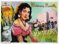 Cuentos de la Alhambra - 27 x 40 Movie Poster - Spanish Style A