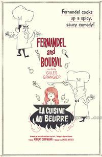 Cuisine au beurre, La - 43 x 62 Movie Poster - Bus Shelter Style A