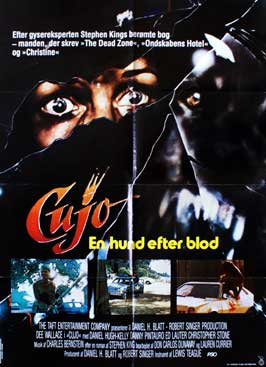Cujo - 11 x 17 Movie Poster - Danish Style A