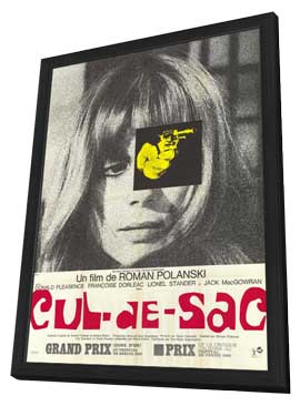 Cul-De-Sac - 11 x 17 Movie Poster - French Style A - in Deluxe Wood Frame