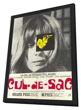 Cul-De-Sac - 27 x 40 Movie Poster - French Style A - in Deluxe Wood Frame