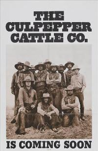 Culpepper Cattle Company - 11 x 17 Movie Poster - Style B