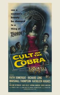 Cult of the Cobra - 43 x 62 Movie Poster - Bus Shelter Style A