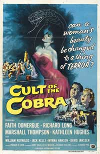 Cult of the Cobra - 43 x 62 Movie Poster - Bus Shelter Style B