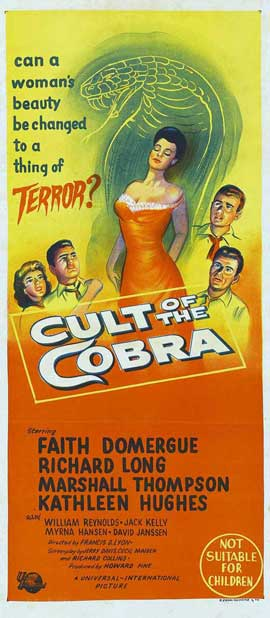 Cult of the Cobra - 13 x 30 Movie Poster - Australian Style A