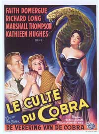 Cult of the Cobra - 27 x 40 Movie Poster - Spanish Style A