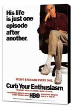 Curb Your Enthusiasm - 11 x 17 TV Poster - Style F - Museum Wrapped Canvas