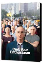 Curb Your Enthusiasm - 11 x 17 TV Poster - Style G - Museum Wrapped Canvas
