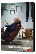 Curb Your Enthusiasm - 11 x 17 TV Poster - Style H - Museum Wrapped Canvas