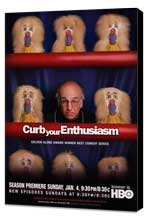 Curb Your Enthusiasm - 27 x 40 TV Poster - Style C - Museum Wrapped Canvas
