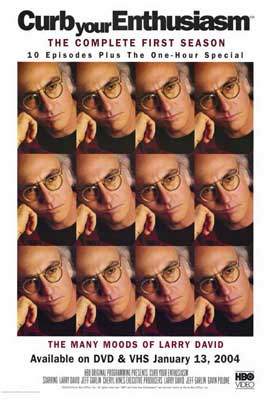 Curb Your Enthusiasm - 27 x 40 TV Poster - Style A