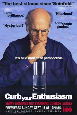 Curb Your Enthusiasm - 11 x 17 TV Poster - Style B
