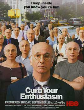 Curb Your Enthusiasm - 11 x 17 TV Poster - Style D