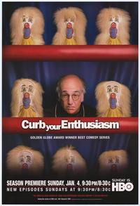Curb Your Enthusiasm - 43 x 62 Movie Poster - Bus Shelter Style A