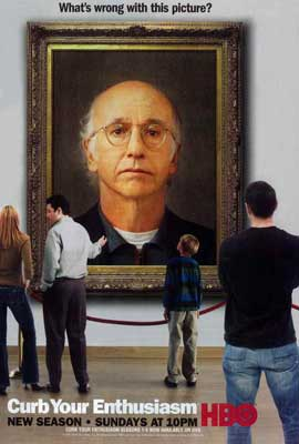 Curb Your Enthusiasm - 27 x 40 TV Poster - Style D