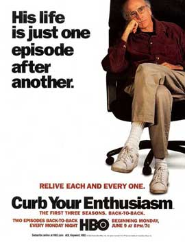 Curb Your Enthusiasm - 11 x 17 TV Poster - Style F