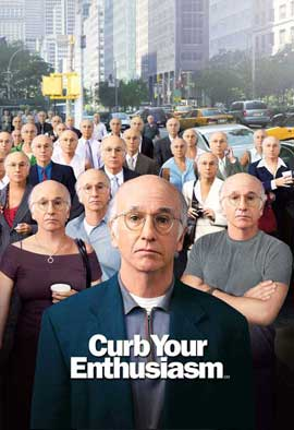 Curb Your Enthusiasm - 11 x 17 TV Poster - Style G