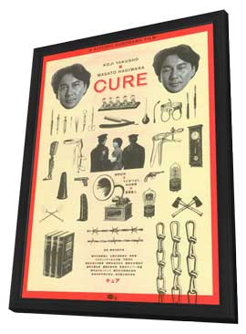 Cure - 27 x 40 Movie Poster - Japanese Style A - in Deluxe Wood Frame