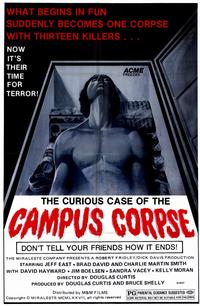 Curious Case of the Campus Corpse - 11 x 17 Movie Poster - Style A