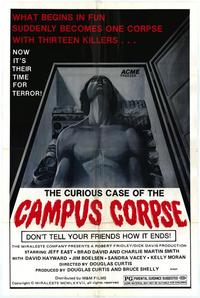 Curious Case of the Campus Corpse - 27 x 40 Movie Poster - Style A