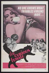 Curious Female - 43 x 62 Movie Poster - Bus Shelter Style A