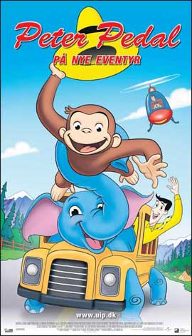 Curious George 2: Follow That Monkey - 20 x 40 Movie Poster - Denmark Style A