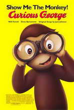 Curious George - 11 x 17 Movie Poster - Style B
