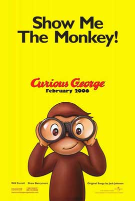 Curious George - 11 x 17 Movie Poster - Style A