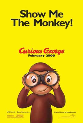 Curious George - 27 x 40 Movie Poster - Style A
