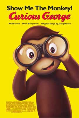 Curious George - 27 x 40 Movie Poster - Style B