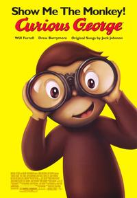 Curious George - 43 x 62 Movie Poster - Bus Shelter Style A