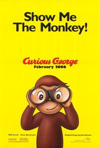 Curious George - 43 x 62 Movie Poster - Bus Shelter Style B