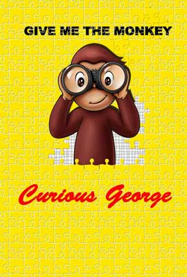 Curious George - 27 x 40 Movie Poster - Style F