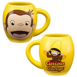 Curious George - 18 oz. Ceramic Oval Mug