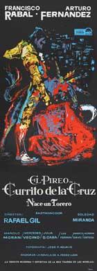 Currito de la Cruz - 14 x 36 Movie Poster - Insert Style A