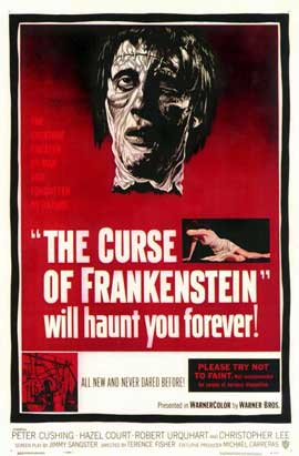 The Curse of Frankenstein - 11 x 17 Movie Poster - Style A