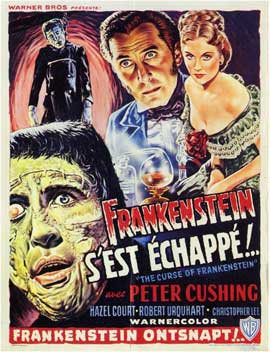The Curse of Frankenstein - 11 x 17 Poster - Foreign - Style A
