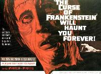 The Curse of Frankenstein - 27 x 40 Movie Poster - Style C