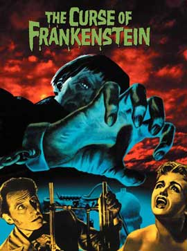 The Curse of Frankenstein - 27 x 40 Movie Poster - Style D