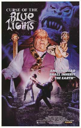 Curse of the Blue Lights - 11 x 17 Movie Poster - Style A