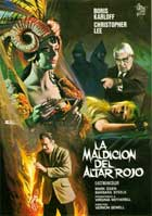Curse of the Crimson Altar - 11 x 17 Movie Poster - Spanish Style A