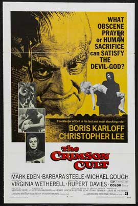 Curse of the Crimson Altar - 11 x 17 Movie Poster - Style A