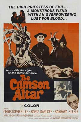 Curse of the Crimson Altar - 11 x 17 Movie Poster - Style B
