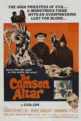 Curse of the Crimson Altar - 27 x 40 Movie Poster - Style B