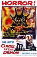 Curse of the Demon - 11 x 17 Movie Poster - Style A