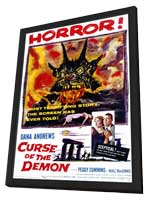 Curse of the Demon - 11 x 17 Movie Poster - Style A - in Deluxe Wood Frame