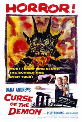 Curse of the Demon - 27 x 40 Movie Poster - Style A