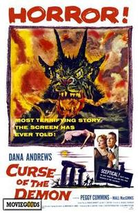 Curse of the Demon - 43 x 62 Movie Poster - Bus Shelter Style A