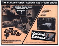 The Curse of the Fly /Devils of Darkness - 11 x 14 Movie Poster - Style A